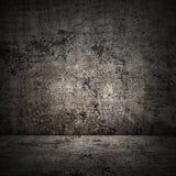 Concrete ruimte in grungestijl, stedelijke achtergrond Stock Foto's