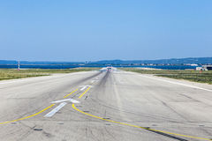 Concrete runway Royalty Free Stock Images