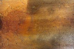 Concrete rusty background. Concrete slab rusted from water drains. Stock Images