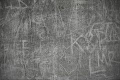 Concrete Ruwe Graffiti Royalty-vrije Stock Afbeelding