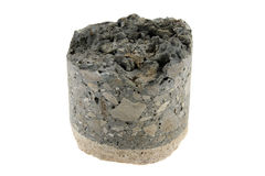 Concrete sample. Royalty Free Stock Photography