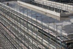 Concrete_scaffolding fotografia de stock royalty free