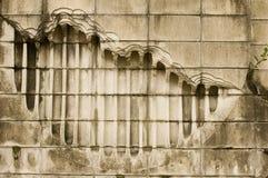 Concrete schade Stock Fotografie