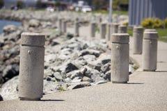 Concrete Schildwachten Stock Afbeelding