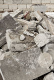 Concrete scrap Stock Photo