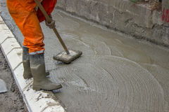 Concrete Screeding Stock Photos