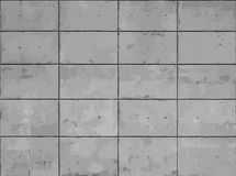 Concrete seamless texture map, vector graphic Stock Photography