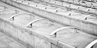 Concrete seating Royalty Free Stock Photos