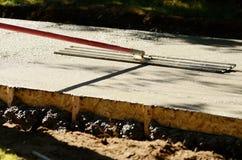 Concrete Sidewalk Stock Image