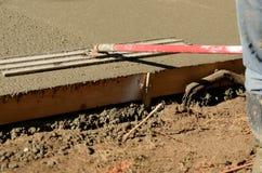 Concrete Sidewalk Royalty Free Stock Photos