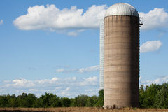 Concrete Silo Royalty Free Stock Images
