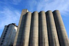 Concrete silo Royalty Free Stock Photography
