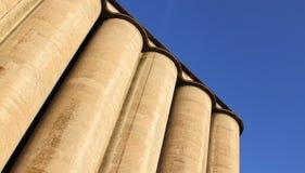 Concrete silo Stock Image