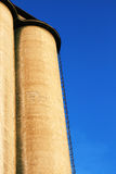 Concrete silo Royalty Free Stock Photos