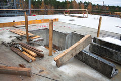 Concrete site Stock Photos