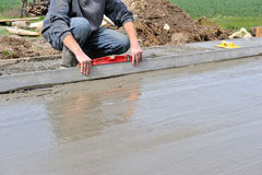 Concrete slab Stock Photos