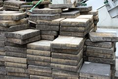 Concrete slabs Royalty Free Stock Image