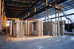 Concrete slabs stock photos