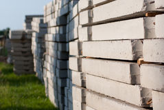 Concrete slabs Stock Photography