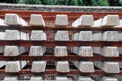 Concrete sleepers Royalty Free Stock Photo