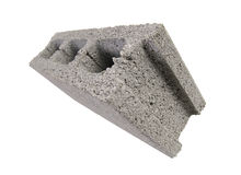 Concrete solid brick Royalty Free Stock Photo