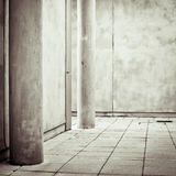 Concrete space Stock Image