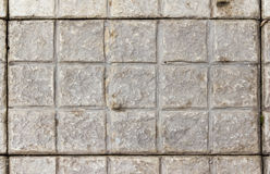 Concrete  Squares wall. Concrete Squares wall Pattern background texture Royalty Free Stock Image