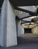 Concrete stad stock afbeeldingen