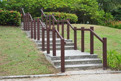 Concrete Stair Step Stock Photo