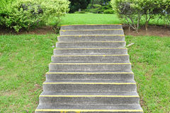 Concrete Stair Steps Stock Photography