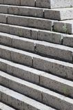 Concrete staircase at the entrance to the building. Stairs going up diagonally. Stair concrete staircase at the entrance to the building. Concrete stairs going stock images