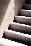 Concrete staircase and shadows Royalty Free Stock Photo