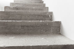 Concrete staircase under construction Royalty Free Stock Photography