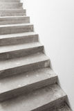 Concrete staircase under construction Stock Image