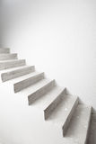 Concrete staircase under construction Stock Images