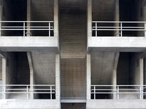 Free Concrete Staircases And Walkways In An Brutalist Type Building Royalty Free Stock Images - 104477749