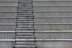 Concrete Stairs. A staircase in a concrete amphitheater Stock Photography