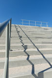 Concrete Stairs with Handrail Royalty Free Stock Photography