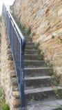 Concrete Stairs Royalty Free Stock Photos