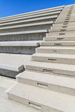 Concrete Stairs in modern amphitheater Stock Images