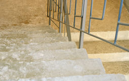 Concrete stairs Stock Image
