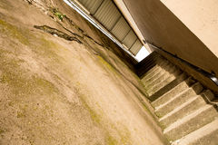 Concrete Stairs Stock Photo