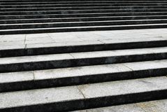 Concrete stairs in the park. Flight Of Concrete Step In The Park Stock Photos
