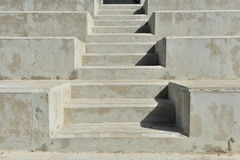 Concrete stairs Royalty Free Stock Photos