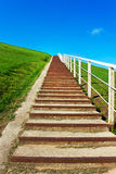 Concrete stairs. Royalty Free Stock Images