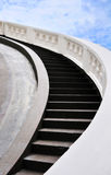 Concrete stairway. To the heaven Stock Image