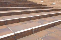 Concrete Stairway Royalty Free Stock Photos