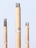 Concrete stake Stock Photo