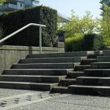 Concrete Stappen Royalty-vrije Stock Afbeelding