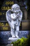 Concrete statue Stock Images